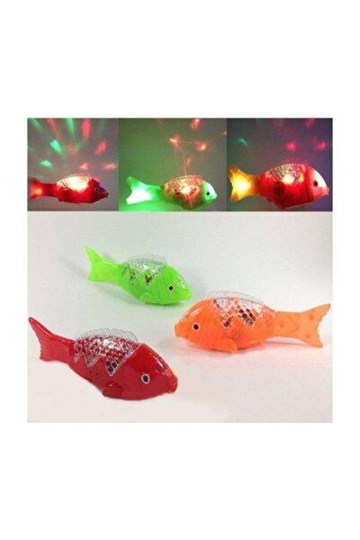 Sesli Ve Işıklı Yürüyen Balık