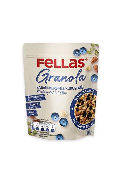 Granola - Yaban Mersinli & Kuruyemişli 300 Gr