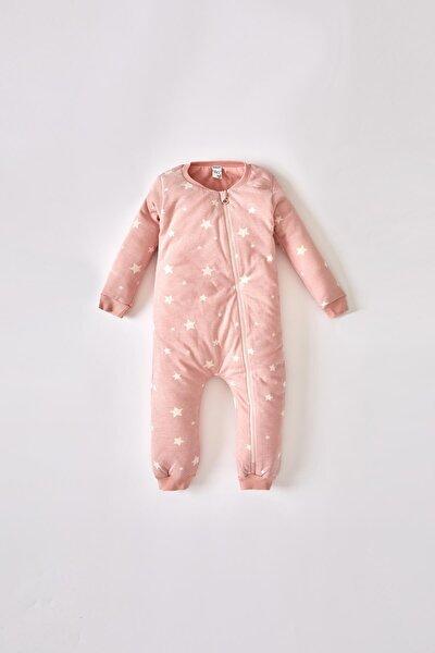 Pembe Kız Bebek Desenli Yeni Doğan Uyku TulumuV2420A221AU