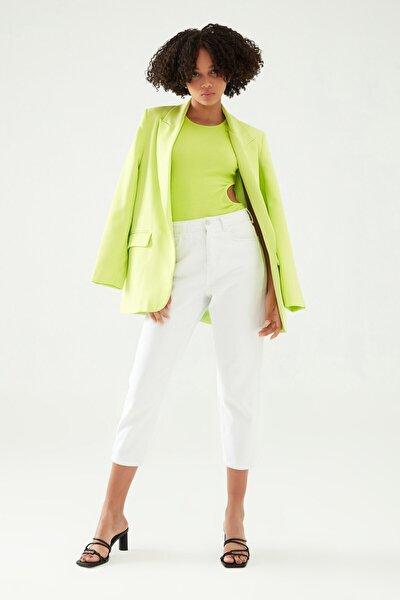 Blazer Ceket Açık Yeşil