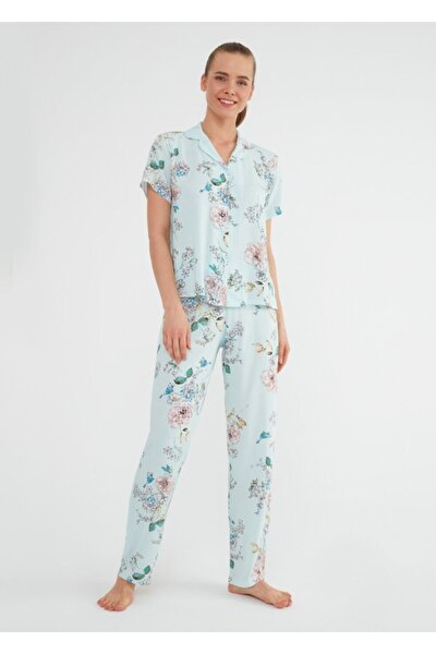 Linda Maskulen Pijama Takımı