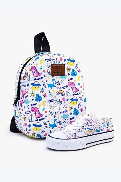 Baby Unicorn Çanta Ve Ayakkabı Seti