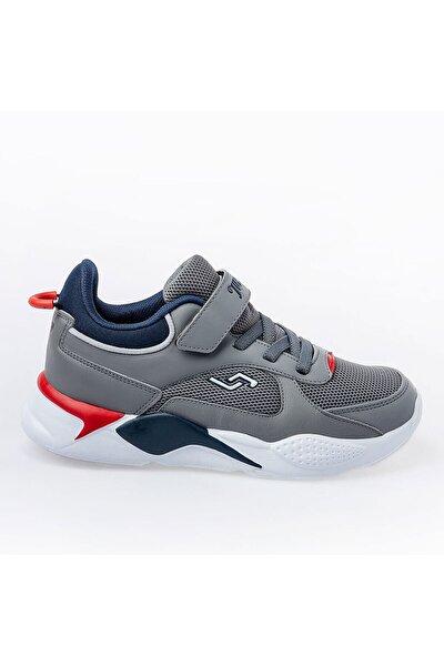 Unisex Gri Çocuk Spor Ayakkabı 24931