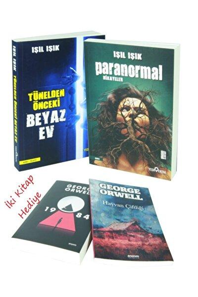 Tünelden Önceki Beyaz Ev + Paranormal Hikayeler / Işıl Işık 2 Kitap Set Iki Kitap Hediyeli