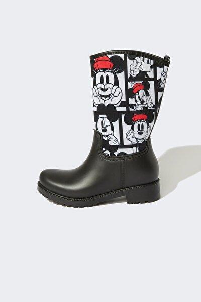 Kız Çocuk Minnie Mouse Lisanslı Yağmur Çizmesi V5855A621AU