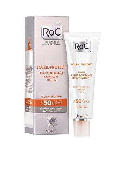 Hassas Cilt İçin Güneş Kremi -Soleil Protect High Tolerance Comfort Fluid Spf 50