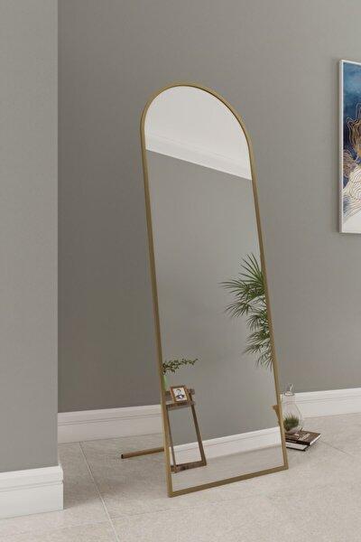 Inci Metal Desıgn 180x60 Gold Oval Ayaklı Ayna