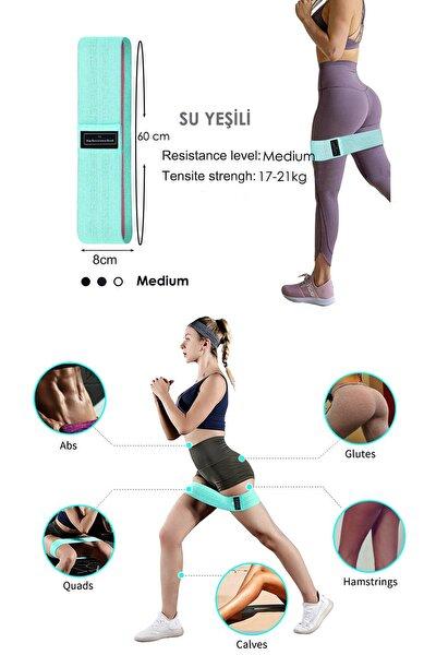 Loop Band Direnç Bandı Spor Egzersiz Aerobik Pilates Squat Lastiği Fitness Yoga