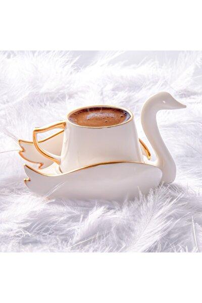 Kuğu 2 Kişilik Kahve Fincan Takımı
