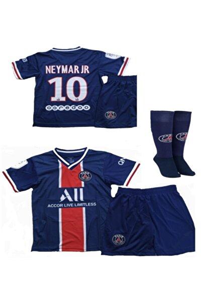 Erkek Çocuk Neymar Forması Paris Forması Forma+şort+çorap