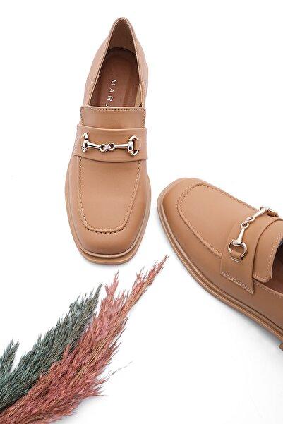 Kadın Loafer Ayakkabı Racescamel