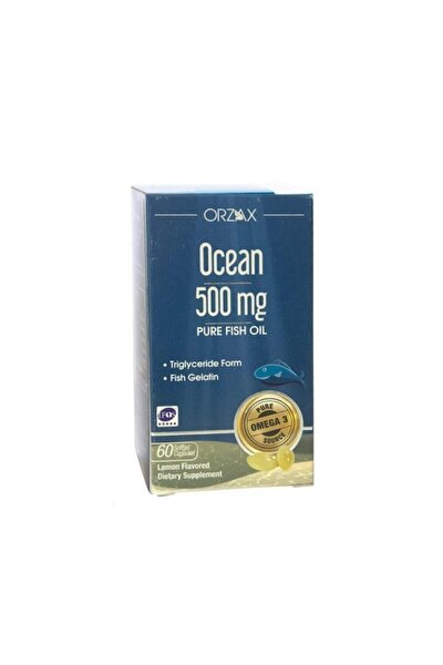 Omega 3 Balık Yağı 500 Mg (60 Kapsül)