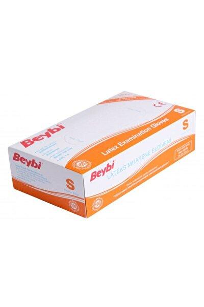 Pudralı Latex Muayene Eldiveni Küçük Boy - 100'lü Paket Novavitalmedikal