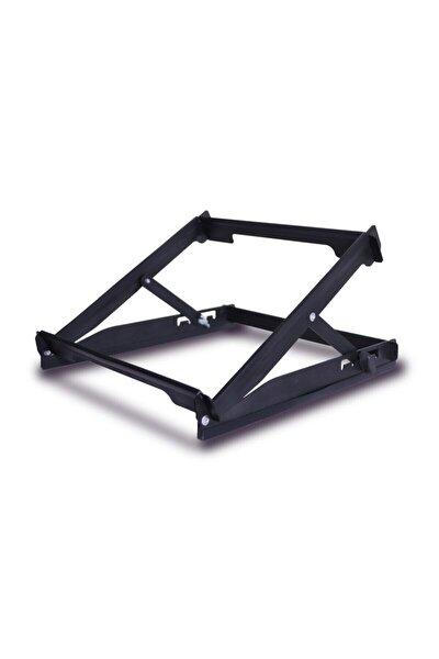 Tüm Modellerle Uyumlu Çelik 5 Açıda Kolay Ayarlanır Notebook Laptop Standı Yükseltici Altlık