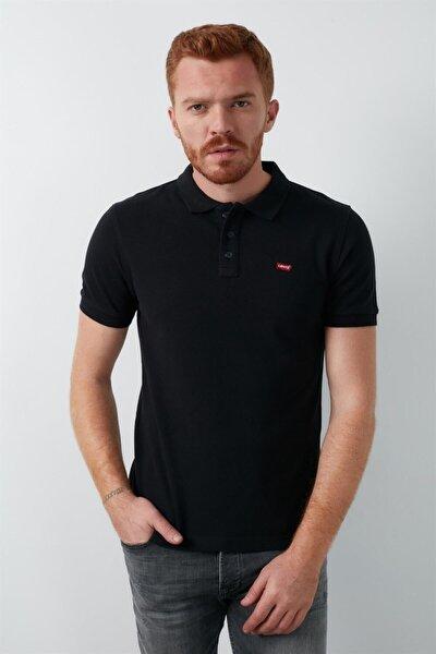 Erkek Polo Yaka Siyah Tshirt 24574-0039