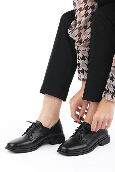 Rilen Kadın Oxford Ayakkabısiyah