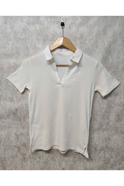 Polo Yaka Kadın T-shirt