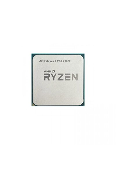 Ryzen 3 Pro 2200g 6mb 4çekirdekli O/b Vega 8 Am4 65w Kutusuz+fansız