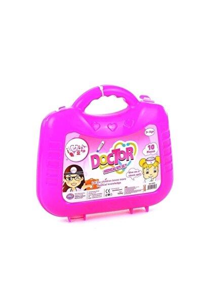 Kız Çocuk Çantalı Doktor Set Hb-15930