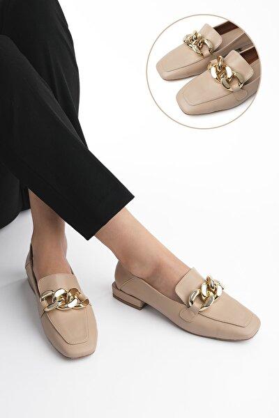 Modena Kadın Loafer Ayakkabıbej