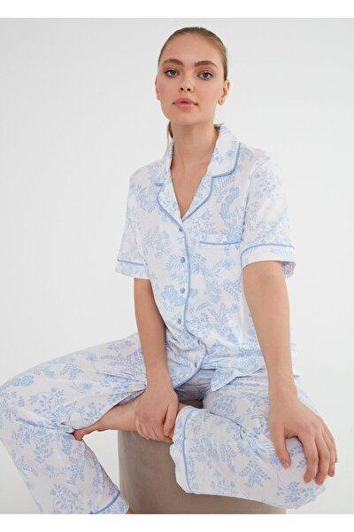 Laila Maskulen Pijama Takımı