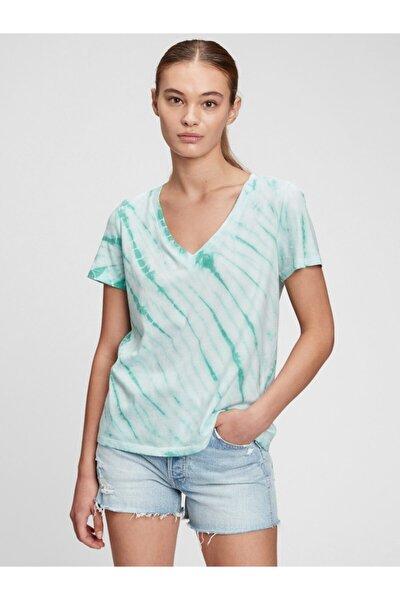 Organik Pamuk Vintage Tie-dye T-shirt