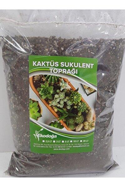 Kaktüs Toprağı 1 Litre Sukulent Aloe Vera Toprağı Özel Karışım Ithal Torf Pomza Perlit Vermikulit