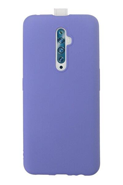 Reno 2z Kılıf Premium Rubber Silikon Kapak Ankacep - Lila