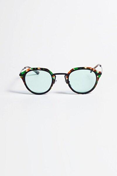 Sonic Oval Güneş Gözlüğü - Kamuflaj Çerçeve Mint Cam