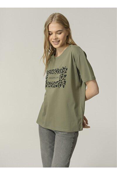 T-shirt, Xs, Haki