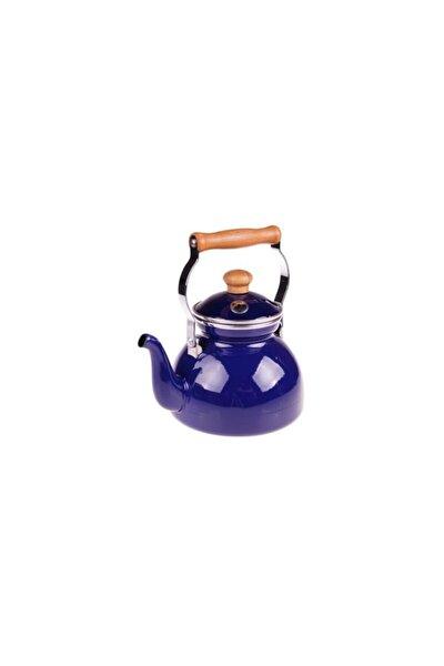 Taşev Zade - Lux Emaye Çaydanlık Lacivert
