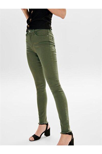 Kadın Renkli Dar Paça Kot Pantolon 443379