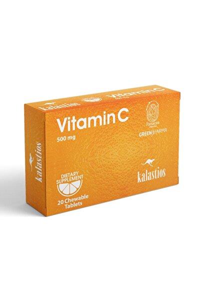 Vitamin C 500 mg 20 Çiğneme Tableti Portakal Aromalı