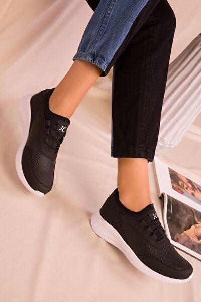 Kadın Siyah Sneaker 15226