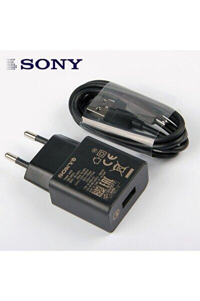 Sony Xperia Uch10 Hızlı Şarj Adaptörü Micro Usb Kablo