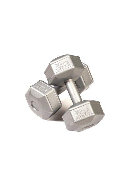 Zeus Spor 5 Kg Dambıl 2 X 5 Kg Toplam 10 Kg Dambıl Seti Gümüş Gri (dumbell)