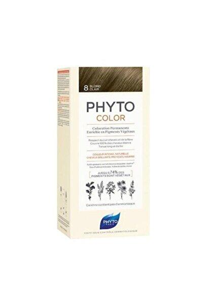 Color 8 Sarı Bitkisel Saç Boyası