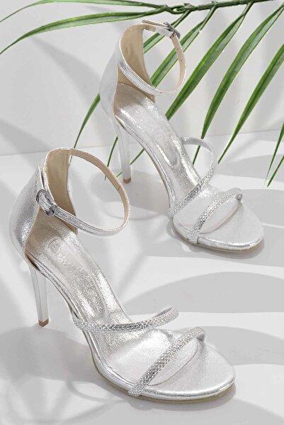 Lame Kadın Abiye Ayakkabı K01527250736