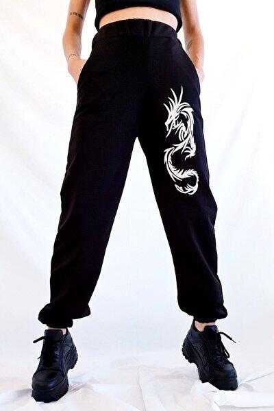 Dragon Siyah Jogger Eşofman