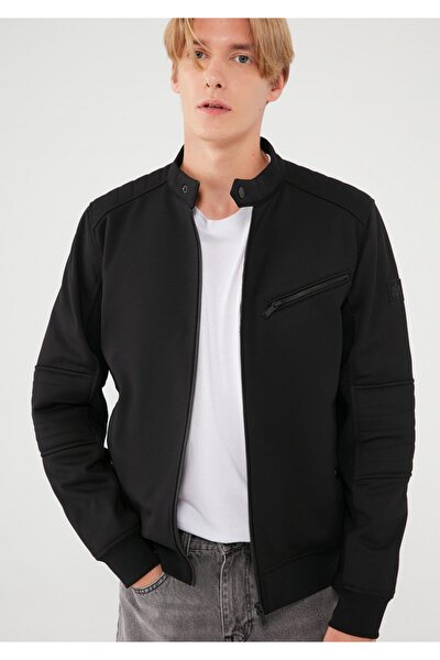 Fermuarlı Siyah Ceket 010061-900