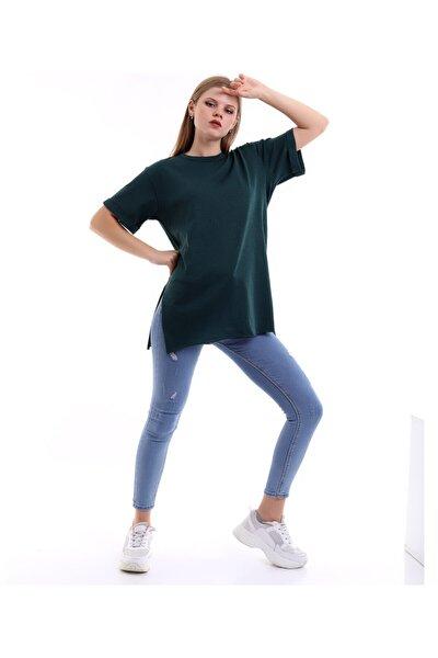 Kısa Kollu Yeşil Tshirt
