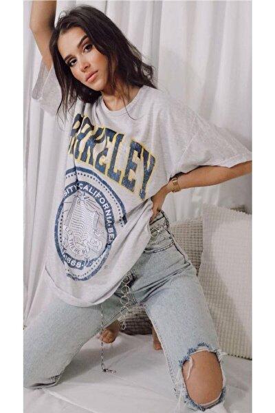 Kadın Gri Berkeley T-shirt