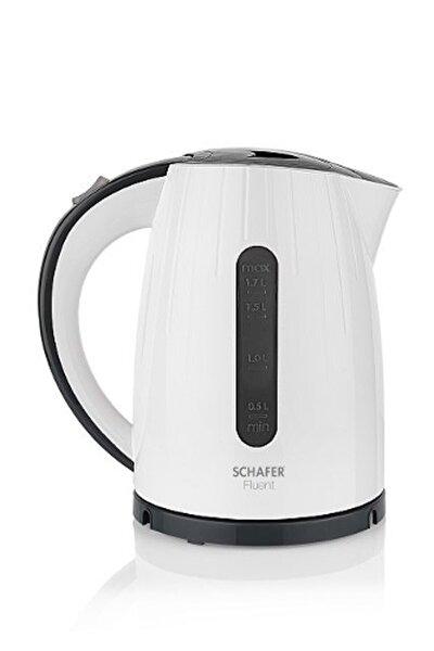 Beyaz Fluent 2200w Elektrikli Su Isıtıcı Kettle