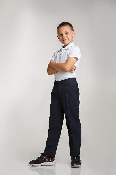 Bel Lastikli Kumaş Okul Pantolonu