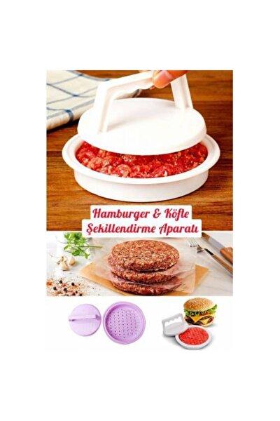 Hamburger Köfte Şekillendirici Köfte Kalıbı Hamburger Pratik Pres Aparat