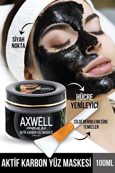 Axwell Premium Aktif Karbon Siyah Maske 100ml