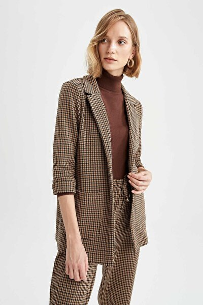 Cep Detaylı Yarım Kol Gömlek Ceket