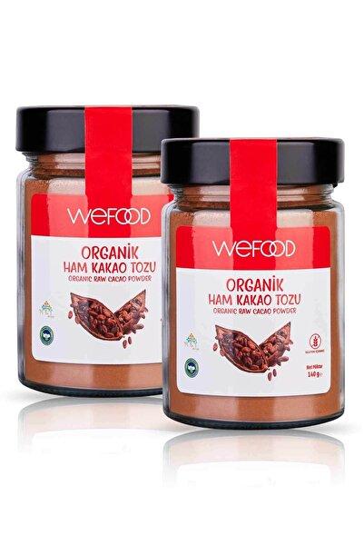 Organik Ham Kakao Tozu 140 gr 2'li