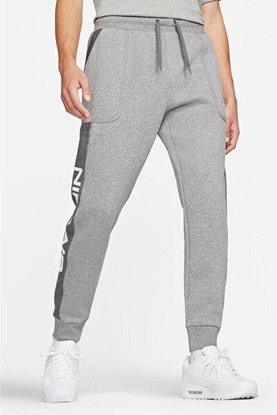 Sportswear Air Fleece Jogger Eşofman Altı Şardonlu Polarlı Gri Melanj