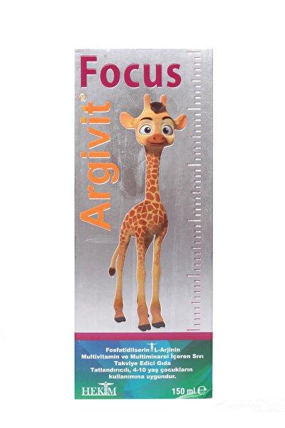 Argivit Focus Takvıye Edıcı Gıda 150 ml Şişe